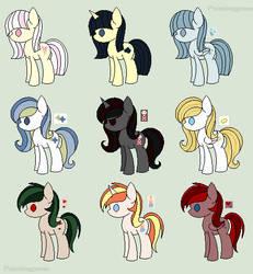 Pony Adoptables #2 (5/9 open)