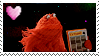 Don't Hug Me I'm Scared: Red Guy Stamp by CoSFBases