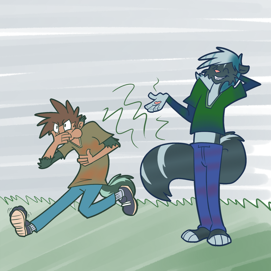 Trevor's Skunkiness is Contagious! by Trevor-Fox