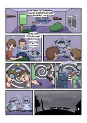 Late Night Raccoon: The Sleepover by Trevor-Fox