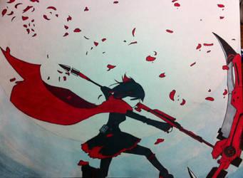 RWBY Ruby Rose by LightHeart4