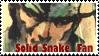 Solid Snake Fan by dragonXtail