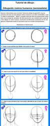 Tutorial de como dibujar rostro (semirealista) by geon2510
