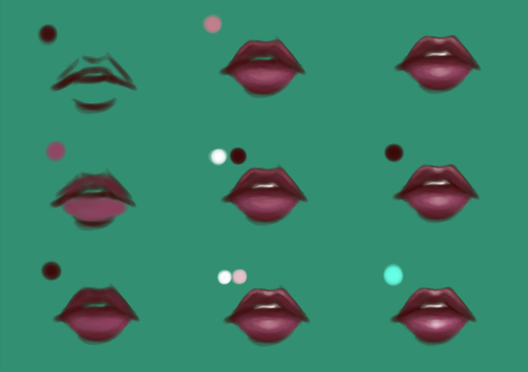 Lip Tutorial by lNeliel