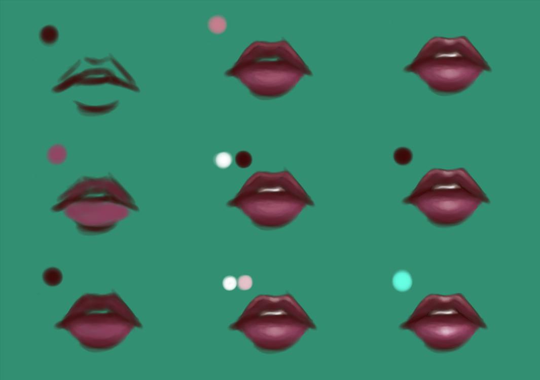 Lip Tutorial by lNeliel