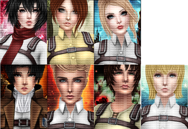 SNK premade set - 3 still avaiable by lNeliel