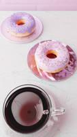 Doughnut Phone Wallpaper 2