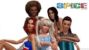 Spice Girls in The Sims 3