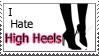 I Hate High Heels by MissCuteSmile