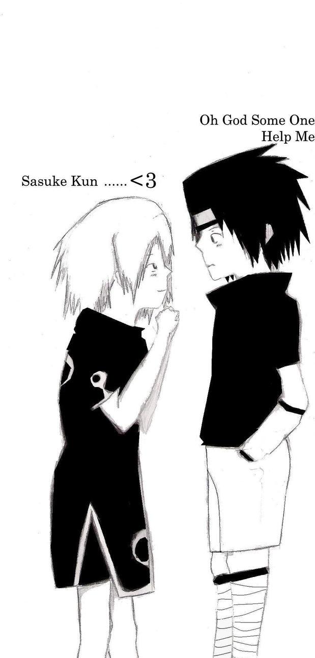 Sasuke And Sakura by MissCuteSmile