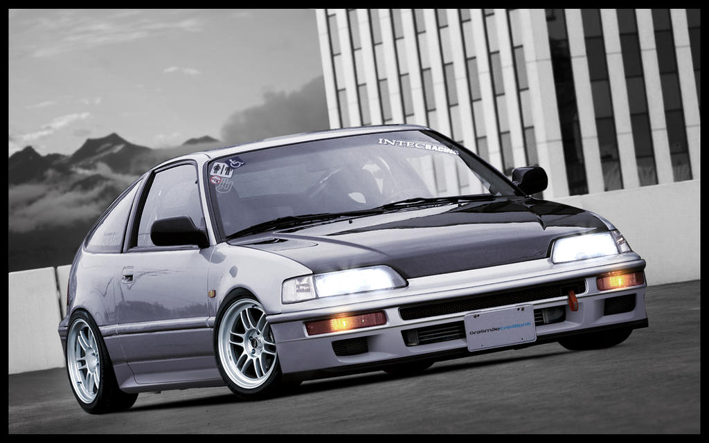 Honda crx jdm wallpaper