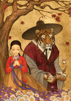 Beauty And The Beast (Hanbok)