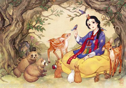 Snowwhite -  Korean traditional dress