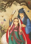 Red Riding Hood - Korean traditional dress