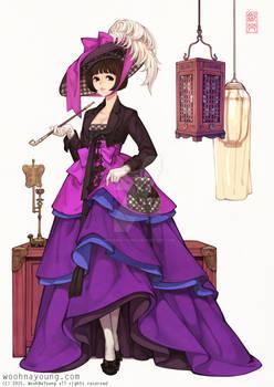 Tuxedo Hanbok Dress