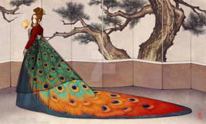 Plume Hanbok Dress
