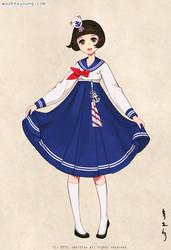 Sailor Hanbok