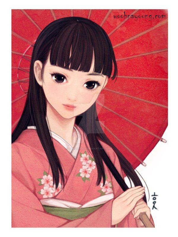 Persona 4 Yukiko Kimono version by theobsidian