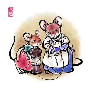 Cinderella and Mice 2