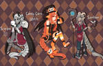 [CLOSED   OTA] Halloween Zodai Adopts by princesawyer