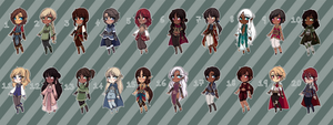 [Closed] Fantasy Adopts 13