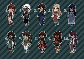 [Closed] Fantasy Adopts 19 by princesawyer
