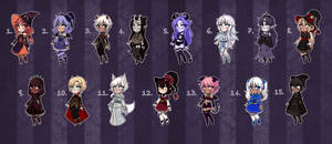 [Closed] Halloween Adopts