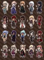 [Closed] Fantasy Adopts 22 by princesawyer
