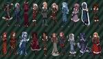 [Open 3/17] Fantasy Semichibi Adopts 06 by princesawyer