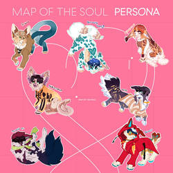 Map of the Soul Persona Kematas CLOSED!