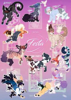 BTS 2019 Festa Kemata designs  -OPEN 2/10 left-