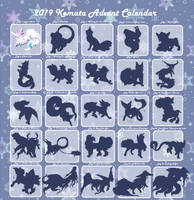 Kemata 2019 Advent Calendar Preview by AmPmRm