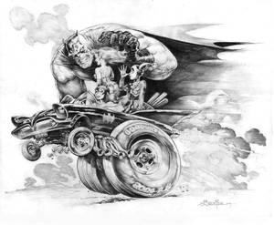 Batman and the Gals