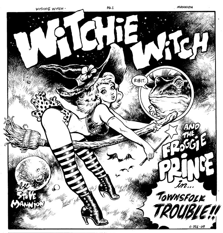 Witchie panel by rattlesnapper
