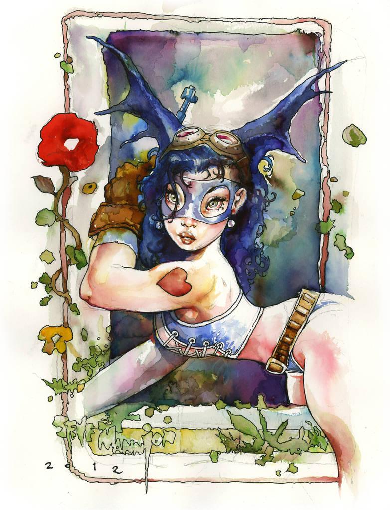 Fearless Dawn Watercolor