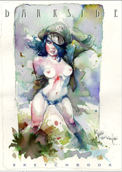 Darkside Sketchbook Cover PDF by rattlesnapper