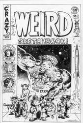 Sketchbook Cover by rattlesnapper