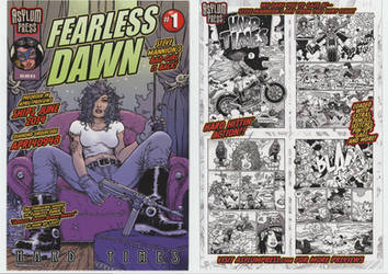 Fearless Dawn Postcards for the shops by rattlesnapper