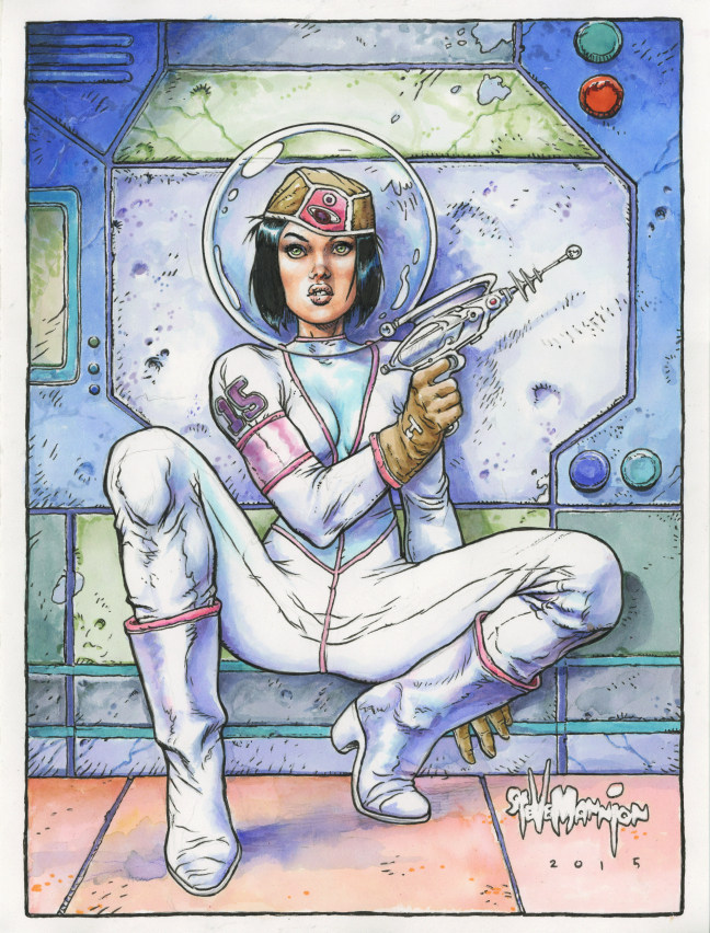 Spacegirl by rattlesnapper