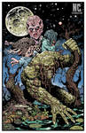 Nccc RETURN OF SWAMP THING PROMO POSTER
