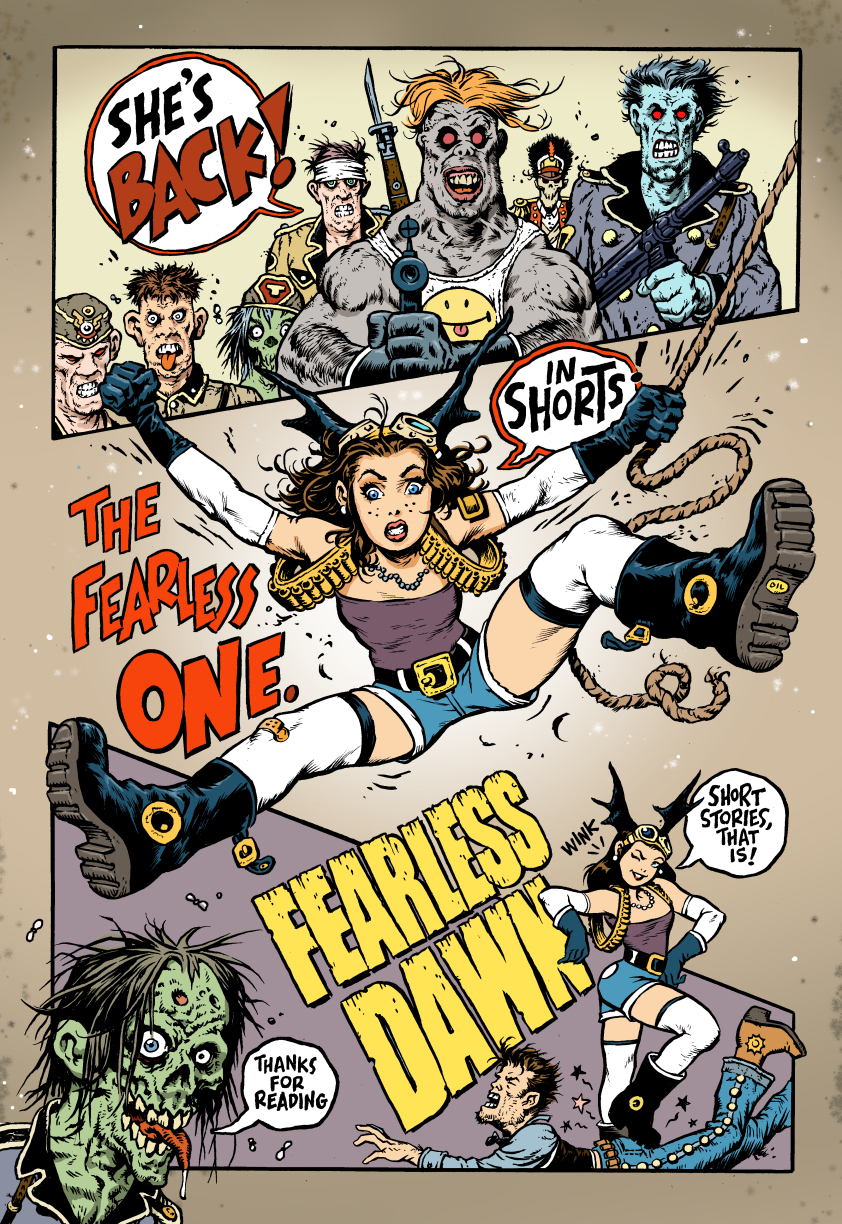 Fearless Dawn SHORTS#1 Promo pic by rattlesnapper
