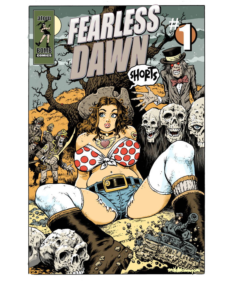 Fearless Dawn Shorts #1 COVER by rattlesnapper
