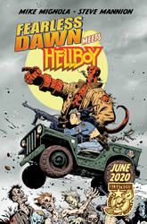 Fearless Dawn meets Hellboy Advertisement