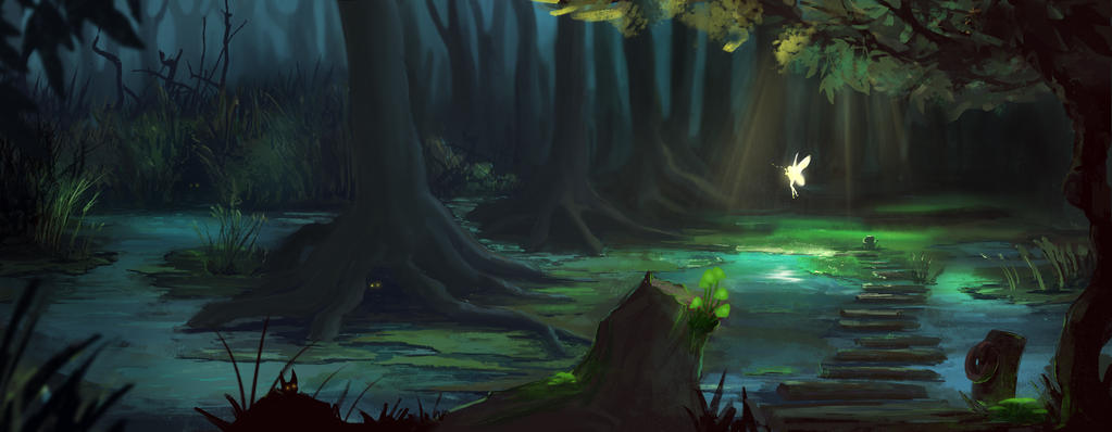 Magic forest by AnBoX