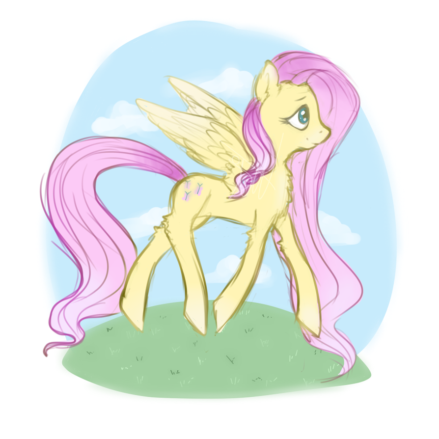 Flutters by DustyToonLink