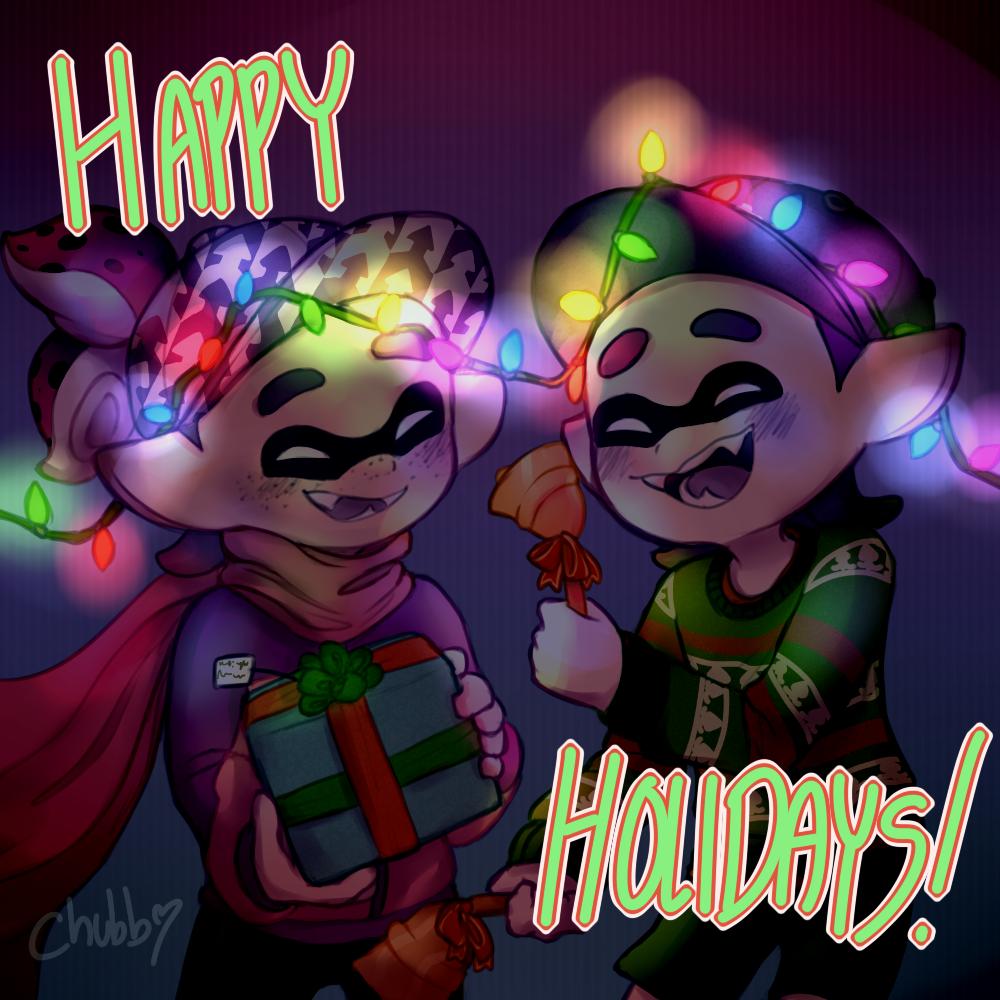 Secret Santa Gift by DustyToonLink