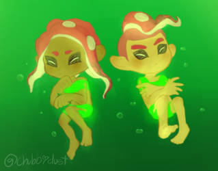 Tubey Octos by DustyToonLink