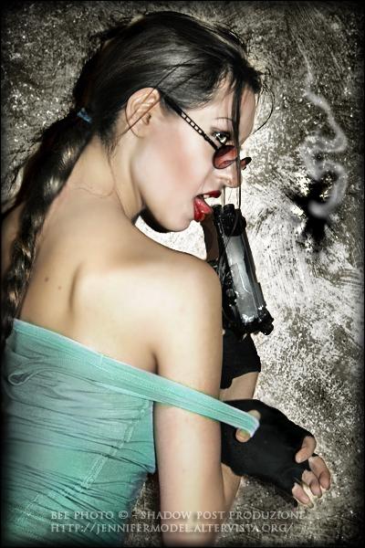 Lara Croft - Love the danger by Daelyth