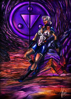 Impa the sage of  the shadow by Daelyth