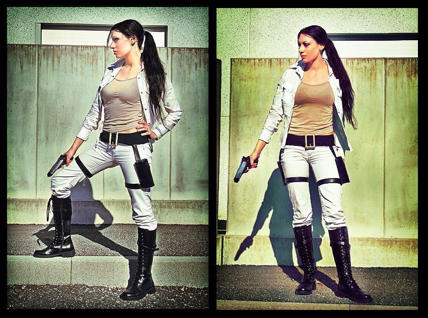Lara Croft original cosplay 02 by Daelyth